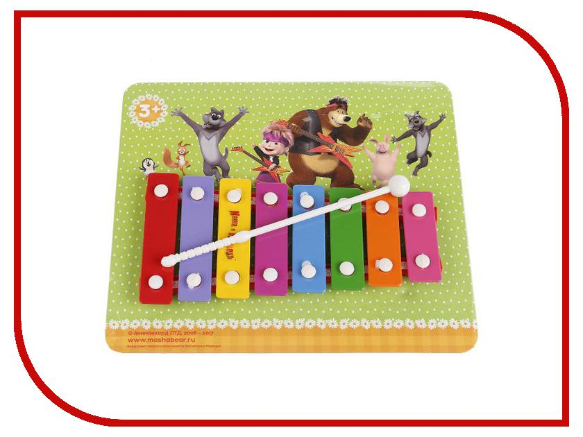 Детский музыкальный инструмент Играем вместе Металлофон Маша и Медведь B1634469-R3