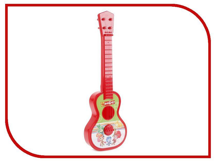 Детский музыкальный инструмент Играем вместе Гитара Фиксики 1508M100-R1