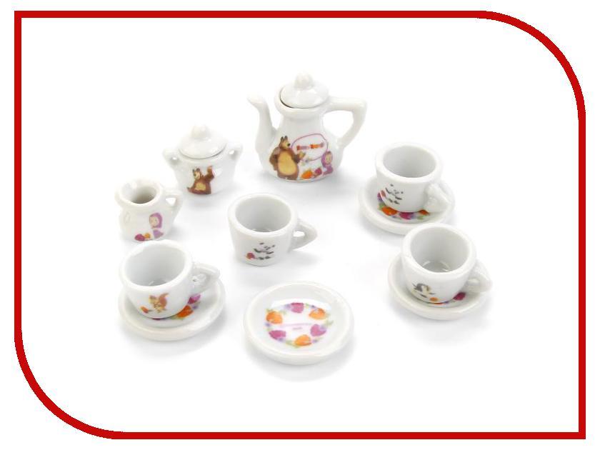 Игра Играем вместе Набор посуды Маша и Медведь CH187-R1 играем вместе игрушка пластм набор посуды принцессы дисней 14 предметов играем вместе