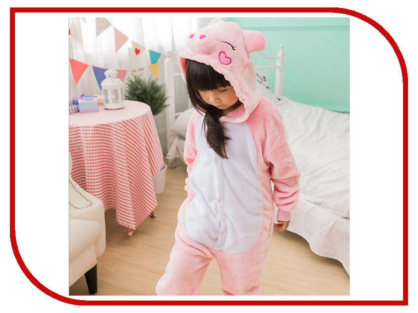 Фото Пижама кигуруми Megamind Свинка 115cm М6463