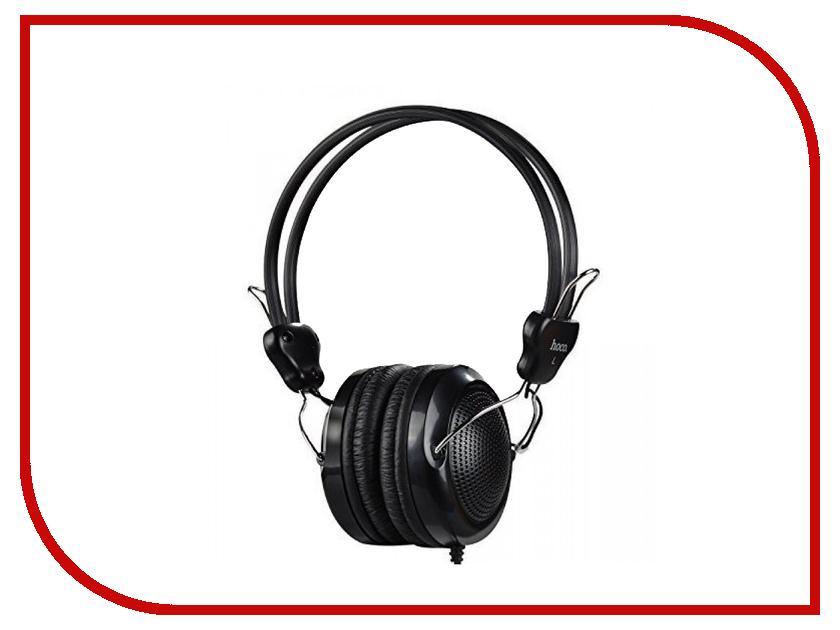Гарнитура HOCO W5 Black аудио наушники hoco наушники с микрофоном hoco m13 black