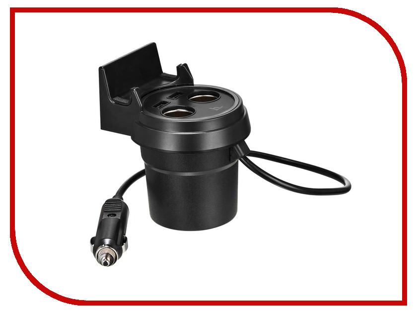 Зарядное устройство HOCO UC207 3.1A Black аудио наушники hoco наушники с микрофоном hoco m13 black