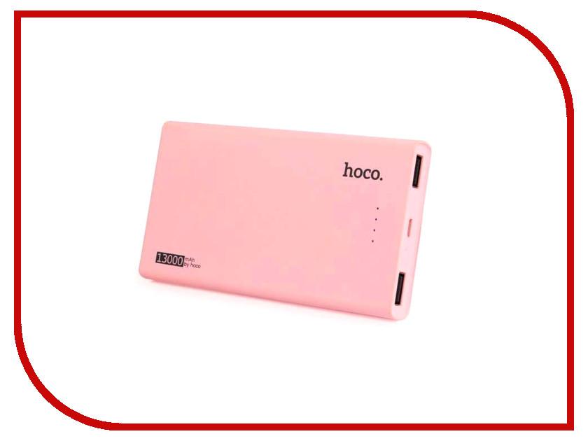 Аккумулятор HOCO B12 Khaki 13000mAh Pink аккумулятор hoco b3 led portable 15000mah white