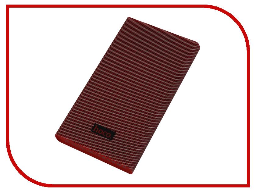 Аккумулятор HOCO B12A Carbon fiber 13000mAh Red аккумулятор yoobao yb 6016 13000mah red