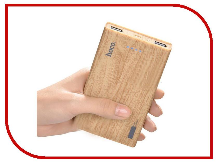 Аккумулятор HOCO B12B Wood grain 13000mAh Beige Oak oreka retro wood grain polarized lens sunglasses black red revo