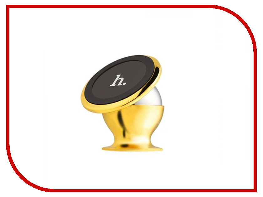 Держатель HOCO CA6 Gold держатель hoco ca3 yellow