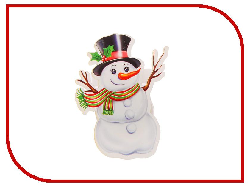Новогодний сувенир СИМА-ЛЕНД Снеговичок в шляпе 1119387 вентилятор сима ленд 12 в 2856852