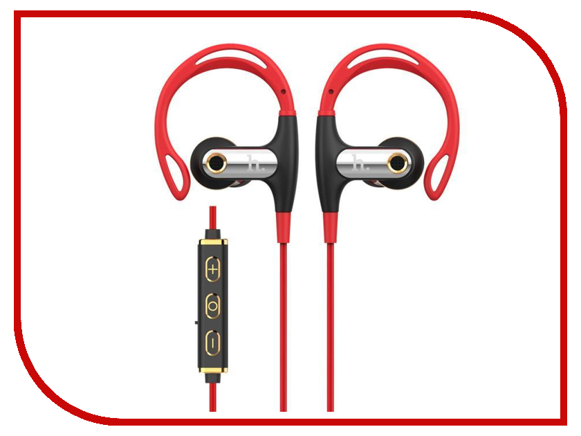Гарнитура HOCO EPB03 Bluetooth Red гарнитура hoco e7 bluetooth pink