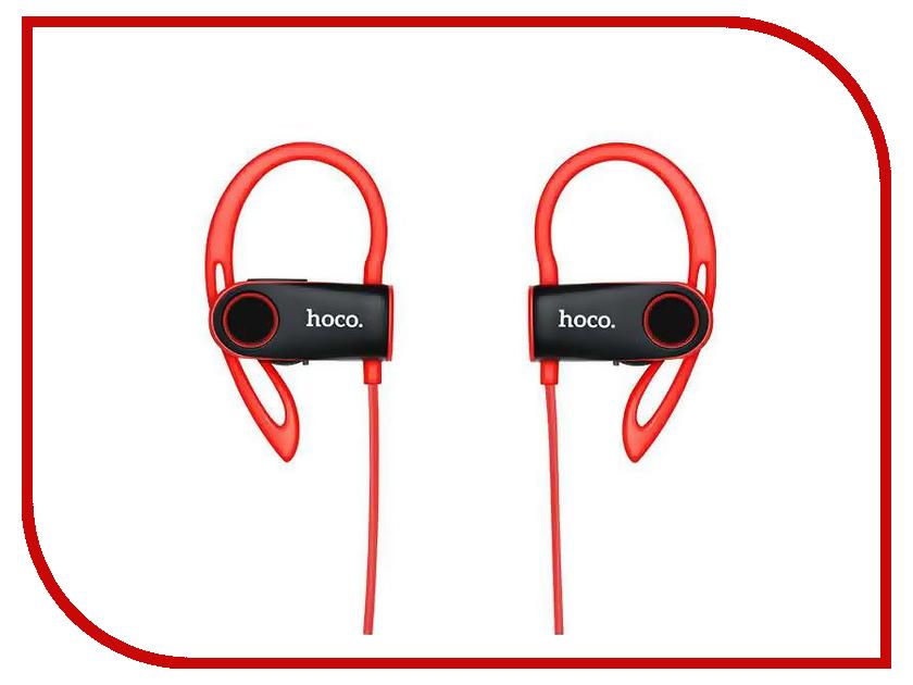 Гарнитура HOCO ES9 Bluetooth Red гарнитура hoco e7 bluetooth pink