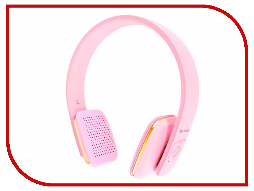 HOCO W9 Bluetooth Pink цена