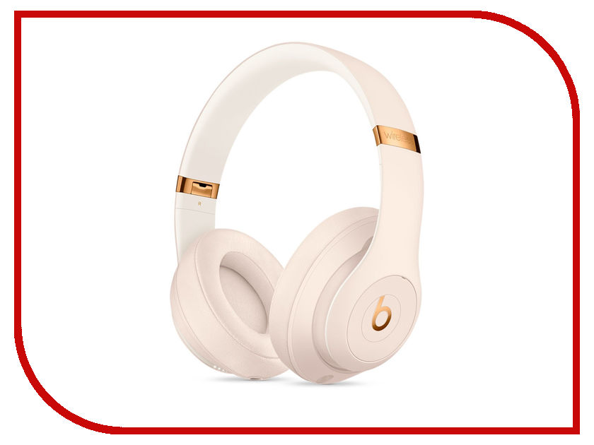 Фото - Beats Studio 3 Wireless Over Ear Headphones Porcelain Rose MQUG2ZE/A itormis mh3 wireless headphones