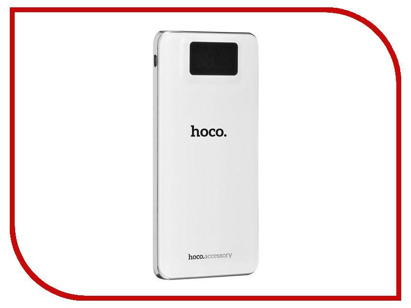 Аккумулятор HOCO UPB05 10000mAh White аккумулятор hoco b3 led portable 15000mah white
