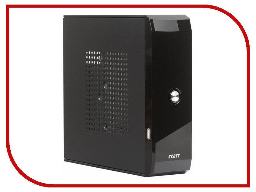 Корпус 3Cott M01 mini-ITX 65W Black цена и фото