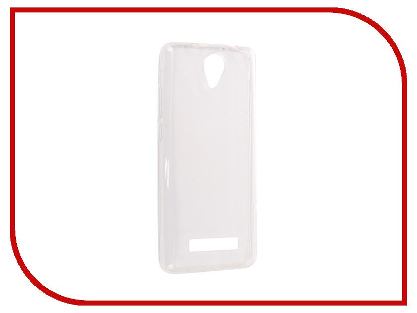 Аксессуар Чехол Prestigio Muze G3 SkinBox Slim Silicone Transparent T-S-PMG3-005