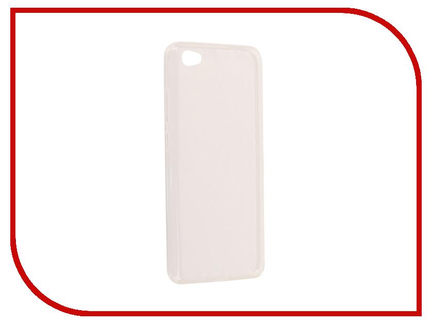 Аксессуар Чехол Xiaomi Redmi Note 5A SkinBox Slim Silicone Transparent T-S-XRN5A16-006 аксессуар чехол накладка xiaomi redmi 5 skinbox slim silicone transparent t s xr5 006