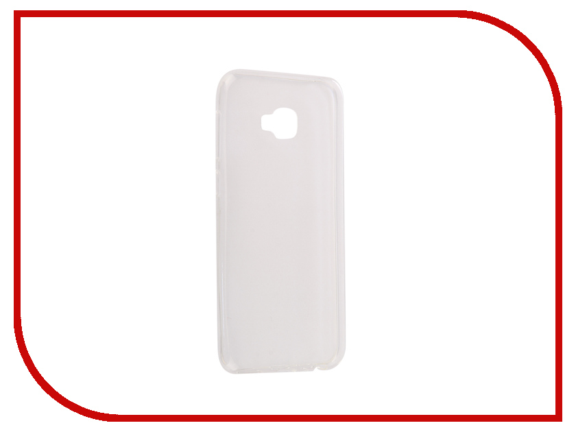 Аксессуар Чехол ASUS Zenfone 4 Selfie Pro ZD552KL SkinBox Slim Silicone Case 4People Transparent T-S-AZD552KL-005 highscreen аккумулятор для easy s easy s pro 2200 mah