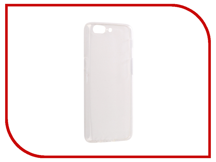 Аксессуар Чехол OnePlus 5 SkinBox Slim Silicone Transparent T-S-OP5-006 аксессуар чехол xiaomi redmi 4 pro 32gb skinbox slim silicone transparent t s xr432gb 006