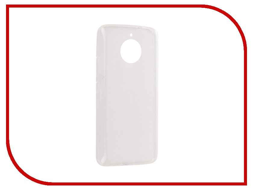 Аксессуар Чехол Motorola Moto E Gen.4 Plus SkinBox Slim Silicone case 4People Transparent T-S-ME4P-005 аксессуар чехол накладка samsung galaxy a3 2017 skinbox silicone chrome border 4people silver t s sga32017 008