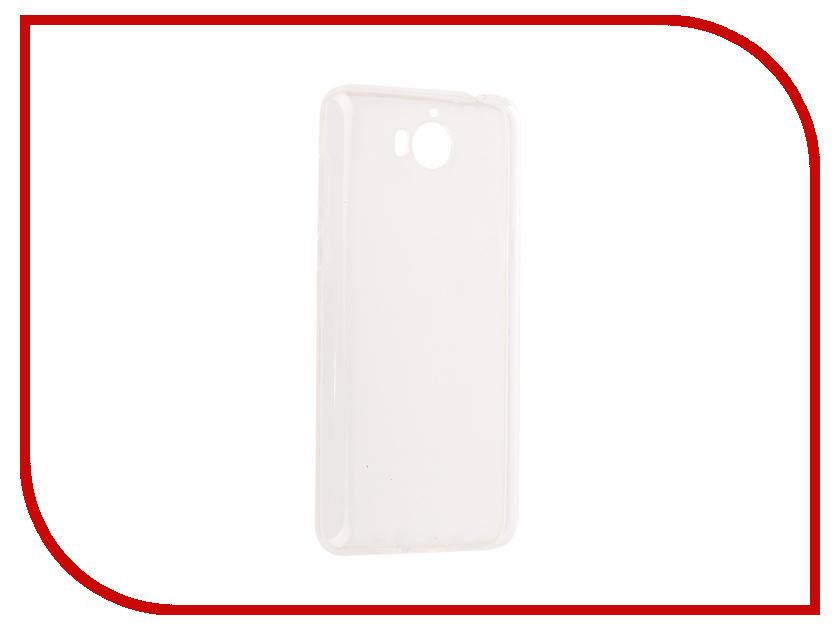 Аксессуар Чехол Huawei Y5 2017 SkinBox Slim Silicone Transparent T-S-HY52017-005 skinbox флип кейс zte blade x5