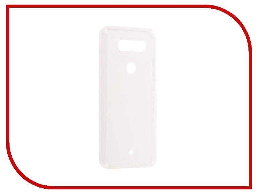 Аксессуар Чехол LG Q8 SkinBox Slim Silicone Transparent T-S-LQ8-005 чехол защитный skinbox lg x cam