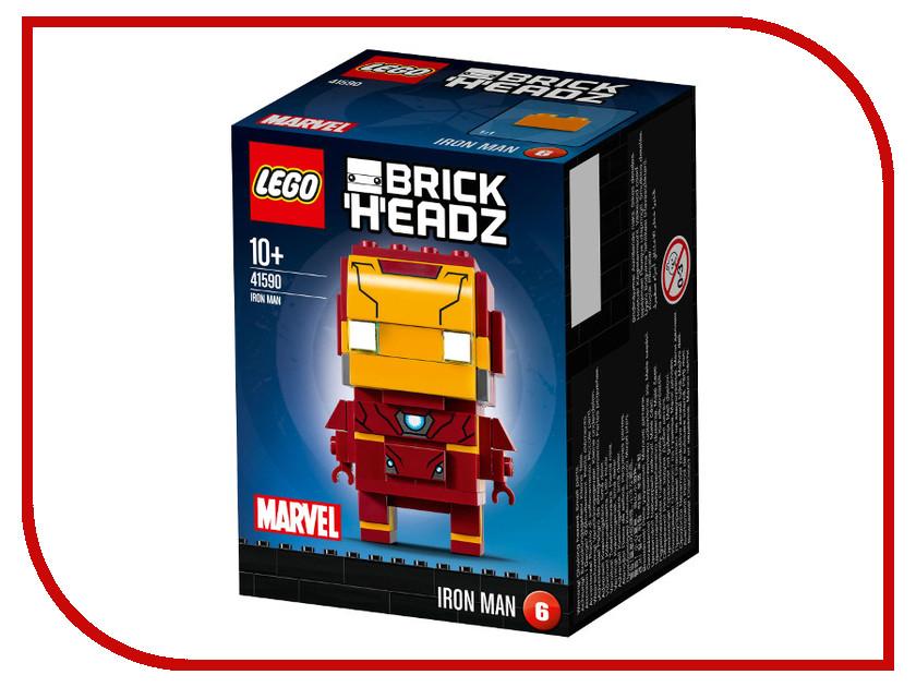Конструктор Lego Brick Headz Железный человек 41590 игрушечный железный пистолет