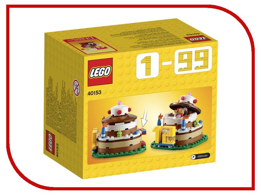 Конструктор Lego Creator Торт на День Рождения 40153