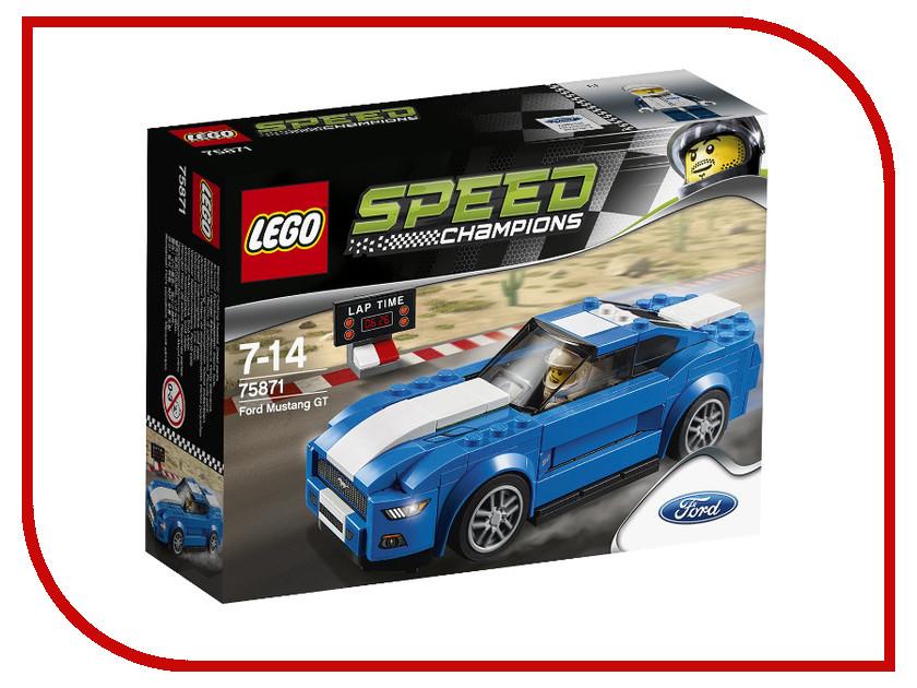 Конструктор Lego Speed Champions Форд Мустанг GT 75871 тнвд форд транзит 2 0 0470004012