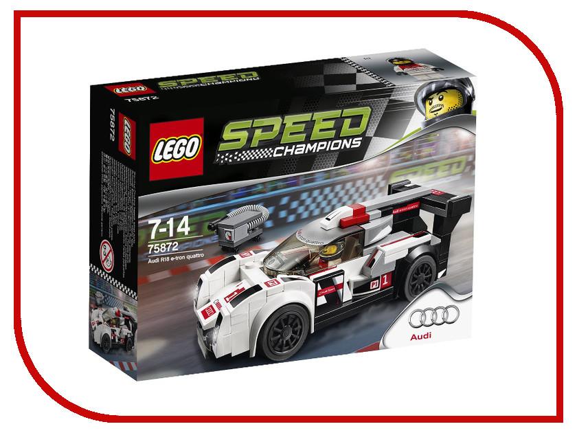 Конструктор Lego Speed Champions Ауди R18 e-tron quattro 75872 бронепровода на ауди 100