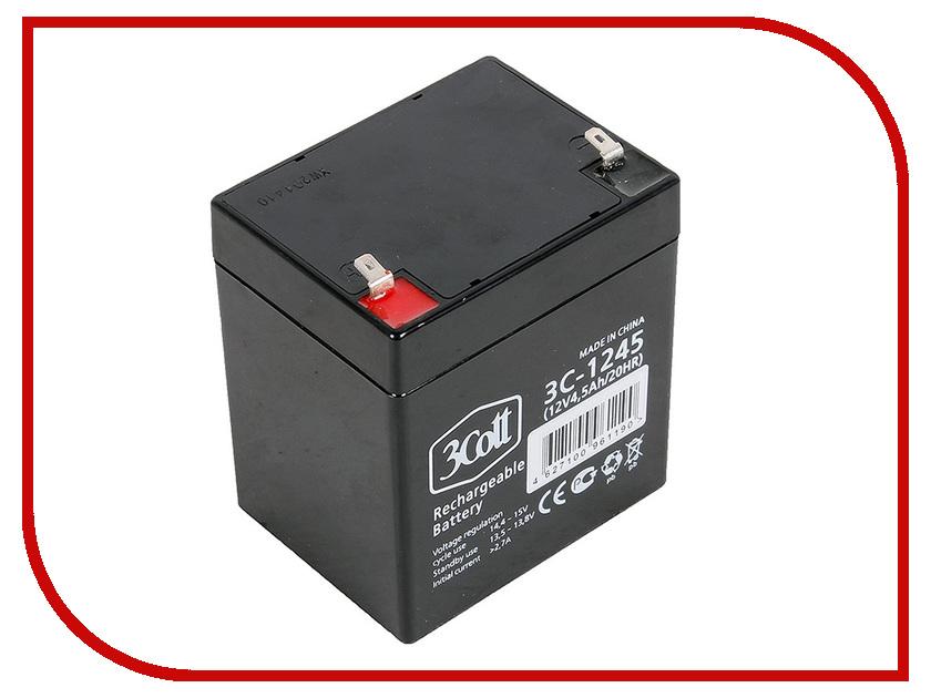 Аккумулятор для ИБП 3Cott 12V 4.5Ah 5 Star Series 3C-1245-5S