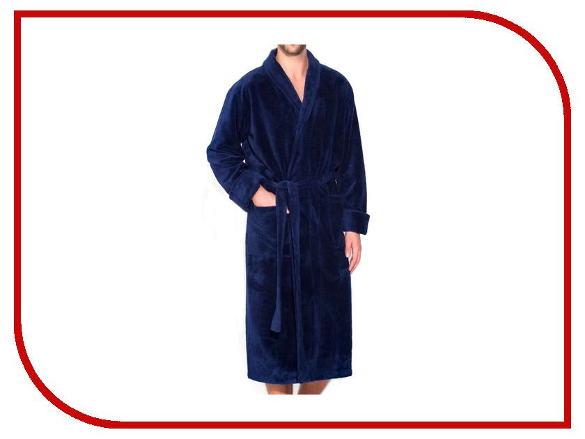 Халат Peche Monnaie Naturel №908 Мужской Размер L Blue халат arya zeus l blue tr1002511