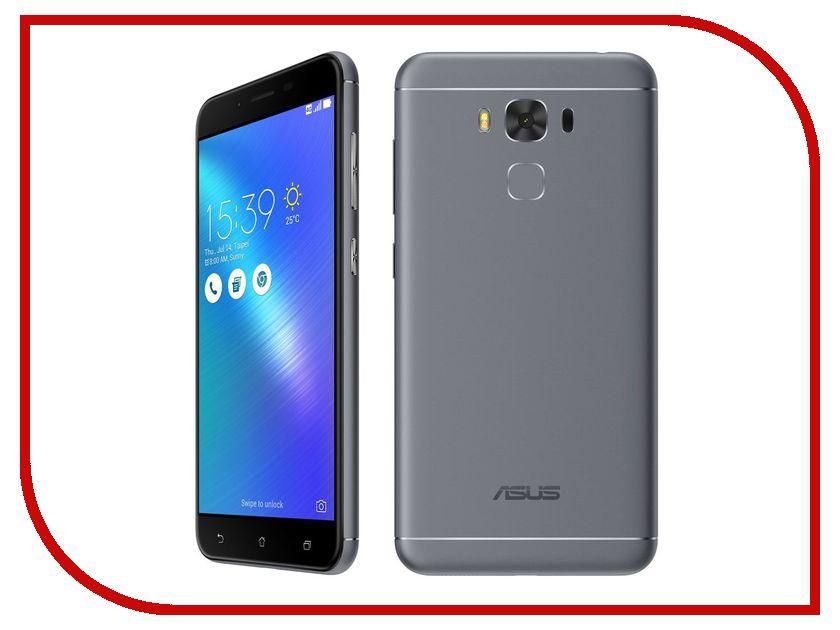 Сотовый телефон ASUS ZenFone 3 Max ZC553KL 16Gb Gray сотовый телефон asus zenfone live zb553kl 16gb pink