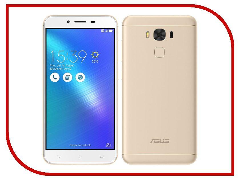 Сотовый телефон ASUS ZenFone 3 Max ZC553KL 16Gb Gold сотовый телефон asus zenfone live zb553kl 16gb pink