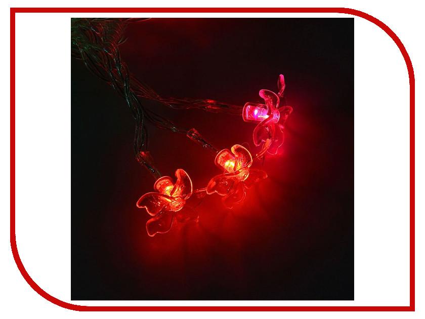 Гирлянда Luazon Метраж Лилия 3m LED-20-3.6V 1080363 гирлянда luazon метраж свечка 5m led 20 220v multicolor 2388694