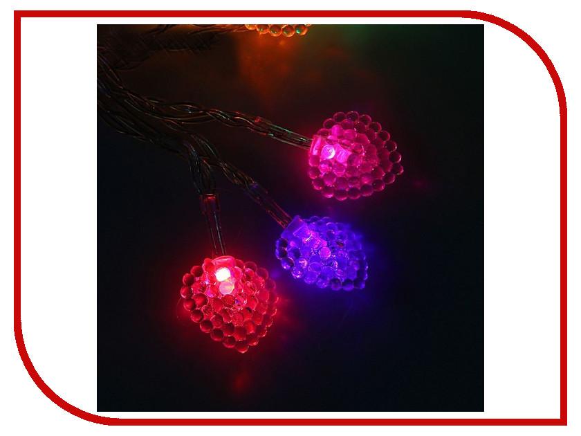 Гирлянда Luazon Метраж Сердце 3m LED-20-3.6V 1080370 гирлянда luazon метраж цветы 5m led 20 220v 185506