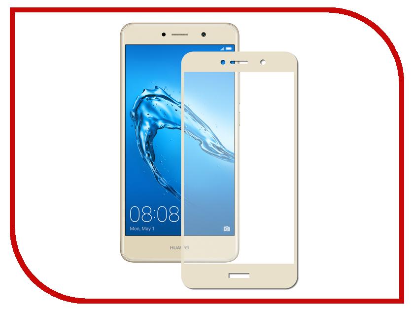 Аксессуар Защитное стекло Huawei Y7 2017 Svekla 3D Gold Frame ZS-SVHWY72017-3DGOLD аксессуар защитное стекло huawei honor 6c svekla zs svhwh6c