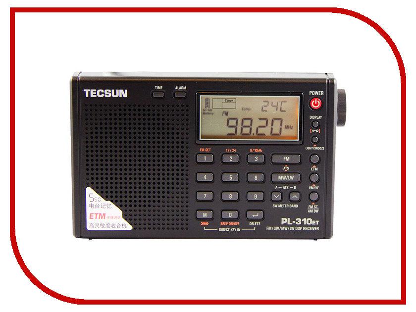 Радиоприемник Tecsun PL-310ET tecsun pl 398mp portable radio 2 2 full band digital tuning stereo fm am sw radio receiver mp3 player tecsun