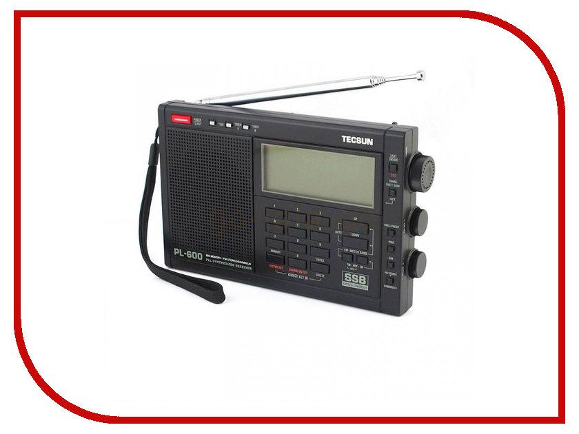 Радиоприемник Tecsun PL-600 tecsun pl 398mp portable radio 2 2 full band digital tuning stereo fm am sw radio receiver mp3 player tecsun