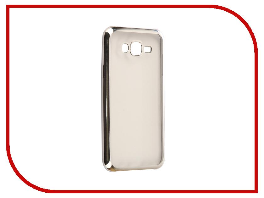 Аксессуар Чехол Samsung Galaxy J7 Neo J701F/DS Svekla Flash Silicone Silver Frame SVF-SGJ701F-SIL аксессуар чехол samsung galaxy j2 prime g532f svekla flash silicone silver svf sgg532f sil