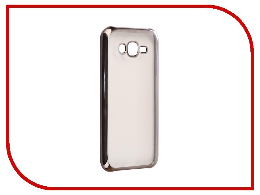Аксессуар Чехол Samsung Galaxy J7 Neo J701F/DS Svekla Flash Silicone Black Frame SVF-SGJ701F-BL аксессуар чехол xiaomi mi a1 svekla flash silicone black frame svf ximia1 bl