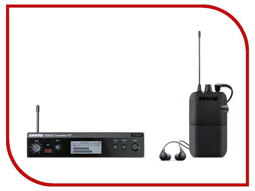 все цены на Радиосистема SHURE P3TER112GR M16