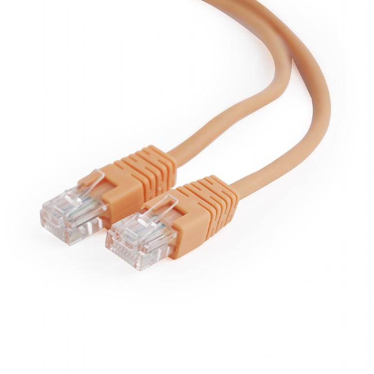Сетевой кабель Gembird Cablexpert UTP cat.5e 2m Orange PP12-2M/O