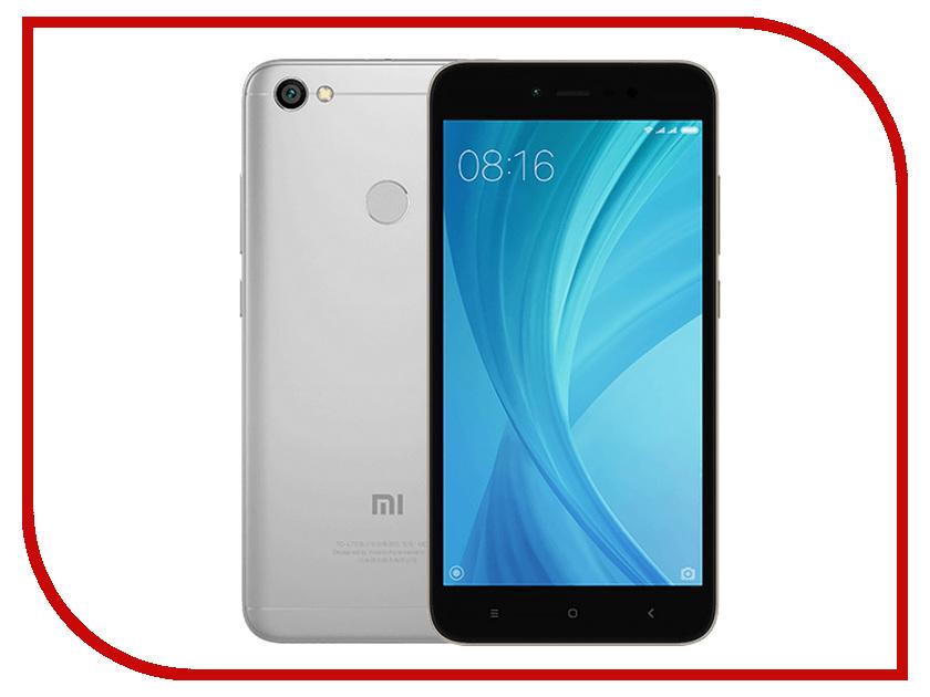Сотовый телефон Xiaomi Redmi Note 5A Prime 4Gb RAM 64Gb Grey сотовый телефон xiaomi redmi 4a 2gb ram 32gb grey