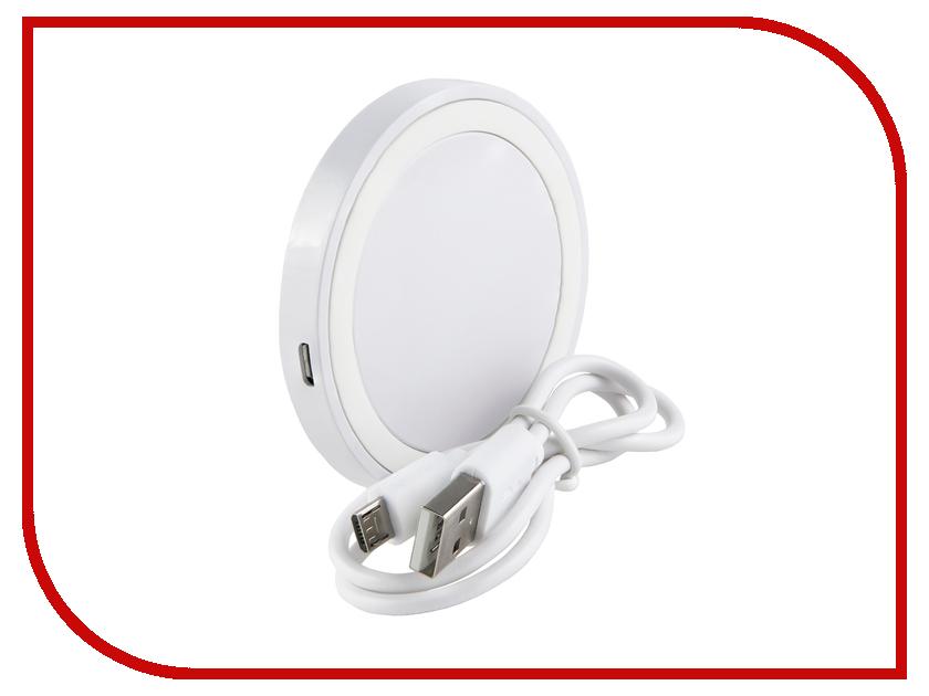Зарядное устройство Red Line QI-01 1A White УТ000013572 зарядное устройство red line qi 02 1a black ут000013567