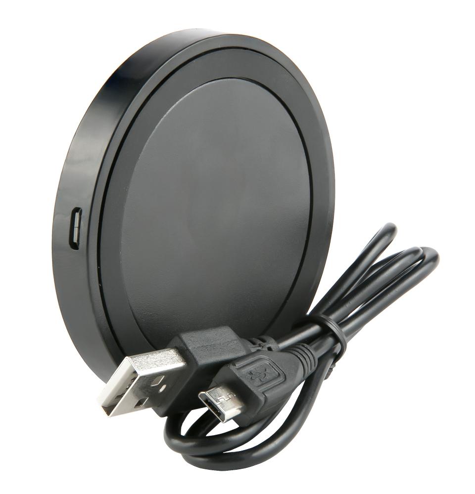 Зарядное устройство Red Line QI-01 1A Black УТ000013571 red line qi 01 1a white беспроводное зарядное устройство