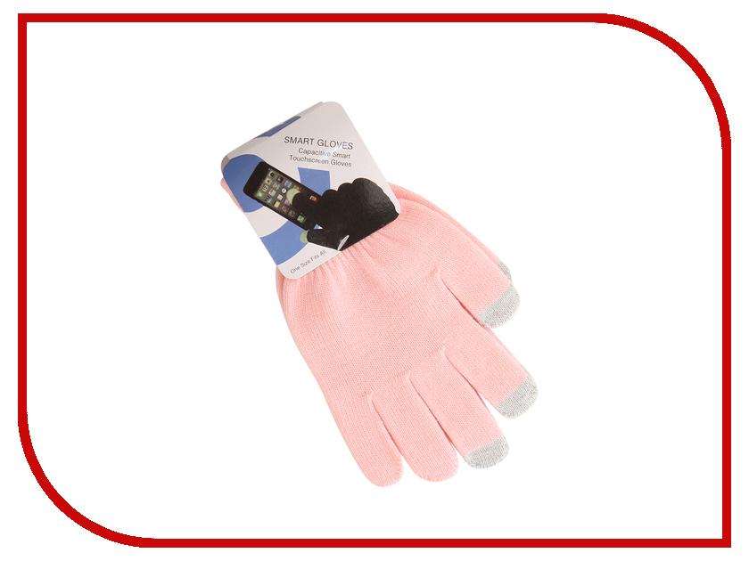 Теплые перчатки для сенсорных дисплеев Red Line р. M/L Pink / Grey Finger теплые перчатки для сенсорных дисплеев igloves w4 р uni red