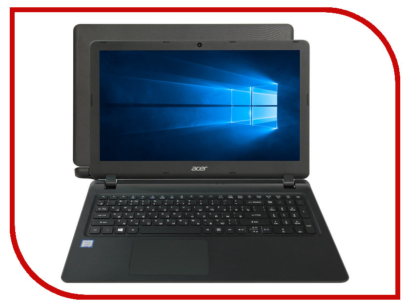 Фото Ноутбук Acer Extensa EX2540-51C1 NX.EFHER.013 (Intel Core i5-7200U 2.5 GHz/8192Mb/2000Gb/Intel HD Graphics/Wi-Fi/Bluetooth/Cam/15.6/1366x768/Windows 10 64-bit)