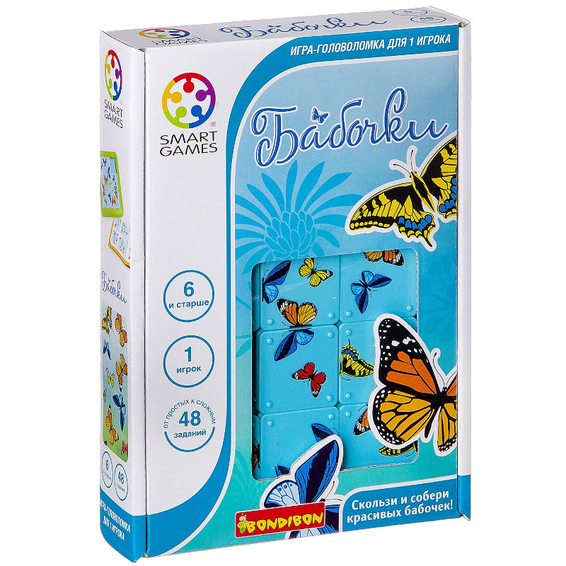 Головоломка Bondibon Бабочки SG 439 RU BB1352 цена