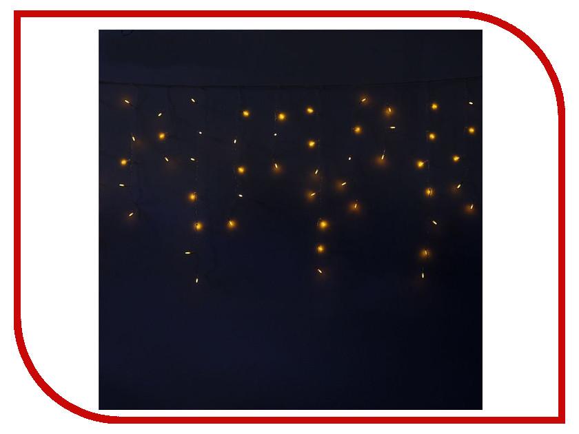 Гирлянда Luazon Бахрома Игла 1.2x0.6m LED-60-220V Yellow 1080535
