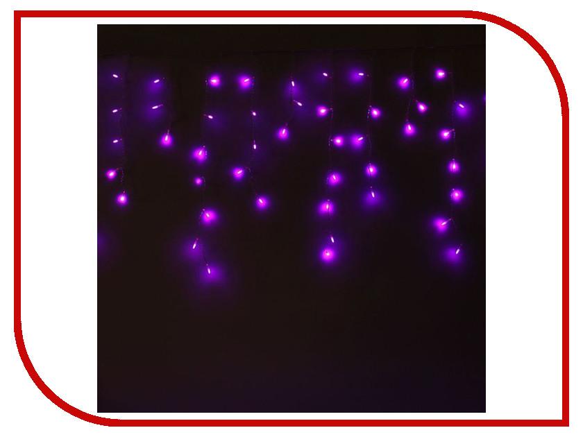 Гирлянда Luazon Бахрома Игла 1.2x0.6m LED-60-220V Violet 1080536 гирлянда luazon конский хвост капля росы 2 5m led 750 12v multicolor 1080622