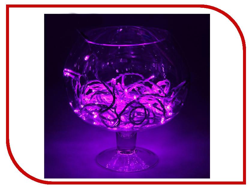 Гирлянда Luazon Метраж 10m LED-100-24В Violet 1672045 тент luazon xl 490x180x150cm 680801 на автомобиль